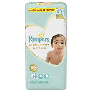 80678433 Pc Pampers Premium Care Xgd 58 X 2 N