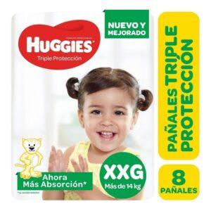 Pañal Huggies Triple Protección Xxgx8