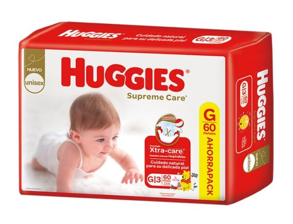 Pañal Huggies Supreme Care Gx60