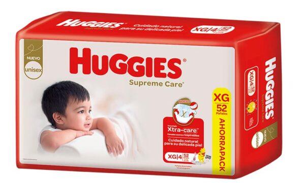 Pañal Huggies Supreme Care Xgx52