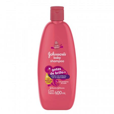 60197 - 89367 J&j Shampoo Gotas De Brillo 12x400ml (nuevo)