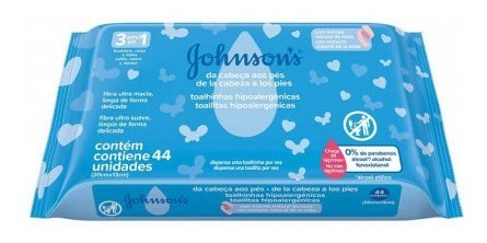 535789 J&j T. Hum. De La Cabeza A Los Pies 24x44u (celeste)
