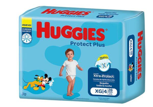 Pañ Hug Prot Plus Xg Jumbo 4x28