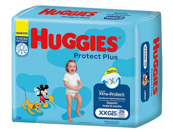 Pañ Hug Prot Plus Xxg Jumbo 4x26