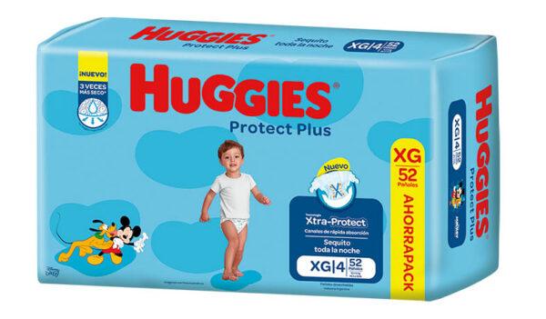 Pañ Hug Prot Plus Xg Ahorrp 2x52