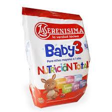 La Serenisima Baby 3 Pouch X 800g