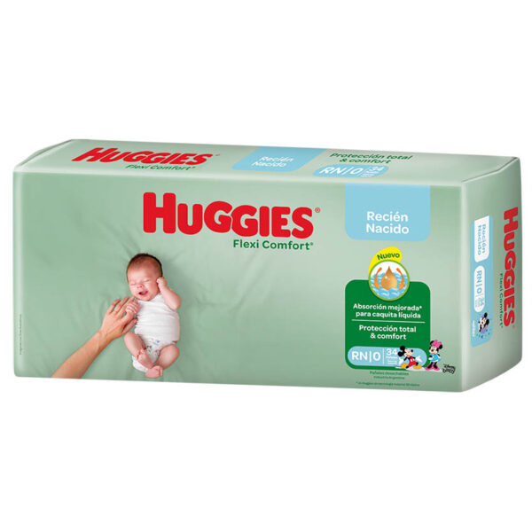 Pañ Hug Flex Comf Rn Mega 6x34