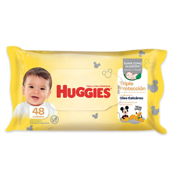 Toallas Húmedas Huggies Triple Proteccion Oleo 30x48