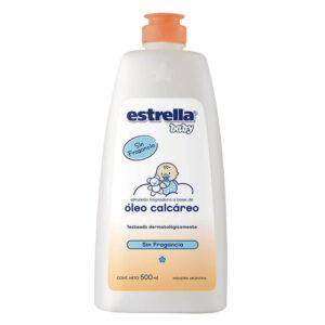 Oleo Calcareo Estrella Baby 500 Ml X 12 S/fragancia Con Extracto De Algodon