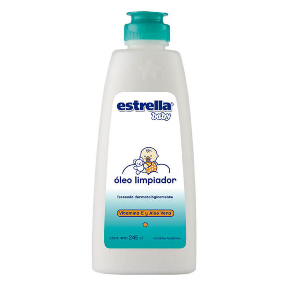 Oleo Limpiador Estrella Baby 250ml X 12 Extra Vitamina