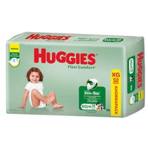 Pañales Huggies Flexi Comfort Xg X52