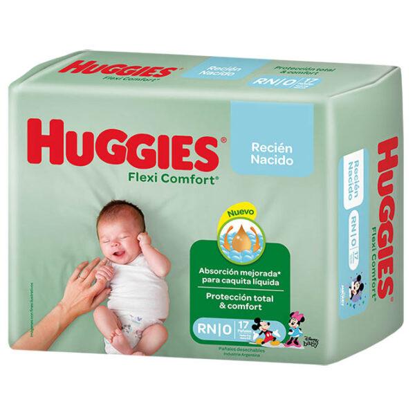 Pañales Huggies Flexi Comfort Rnx17
