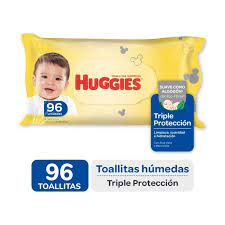 Toallas Húmedas Huggies Triple Proteccion X96