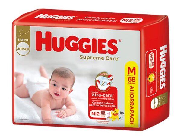 Pañal Huggies Supreme Care Mx68