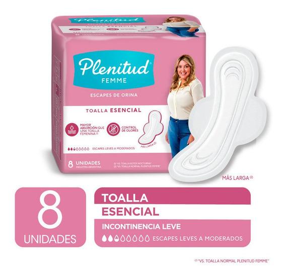 Adu Pad Ple Femme Long W/w 24x8 Esencial