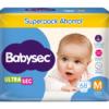 Pl Babysec Ultrasec Jumbo Pack M 68x3
