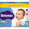 Pl Babysec Ultrasec Jumbo Pack G 60x3