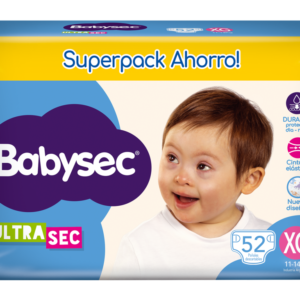 Pl Babysec Ultrasec Jumbo Pack Xg 52x3