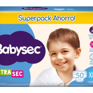 Pl Babysec Ultrasec Jumbo Pack Xxg 50x4