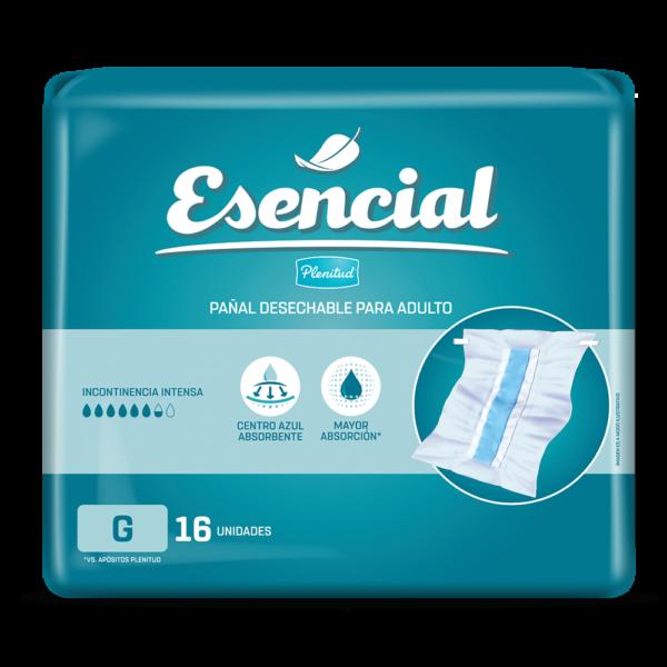 Pañal Para Adultos Plenitud Classic Gx16 Esencial